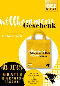 Willkommen GEZ-Einkaufstasche