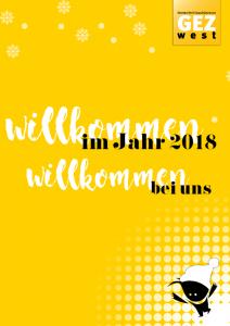 Willkommen im neuen Jahr im GEZ