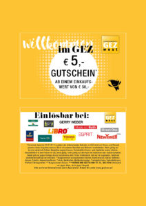 Rabattgutschein 5€ ab einem Einkauf von 50€